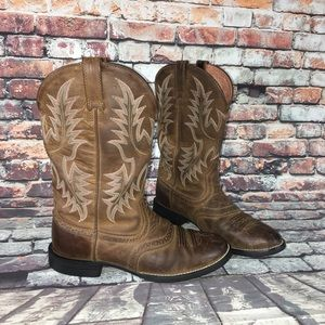 Ariat Ats Equipped Cowgirl Boots Women's Size 6.5
